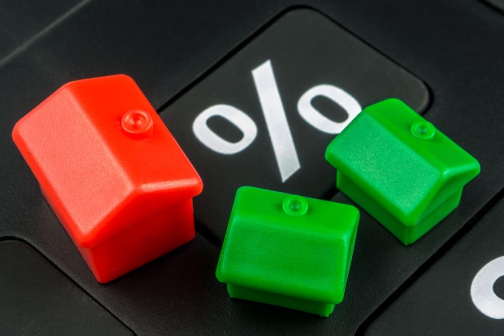 Toetsrente hypotheken voor eerste kwartaal 5 procent